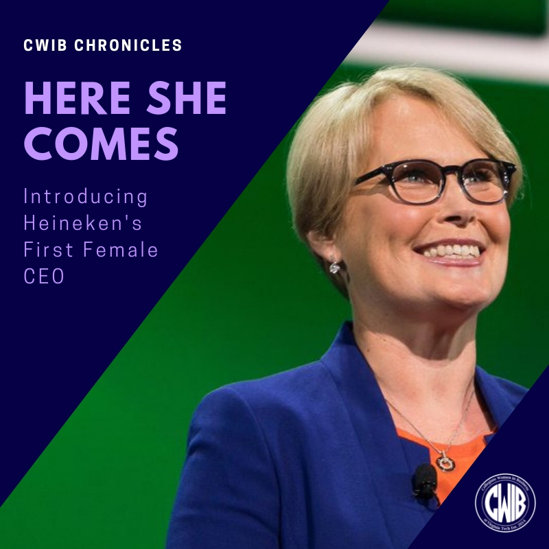 Here She Comes- Introducing Heineken's First FemaleCEO