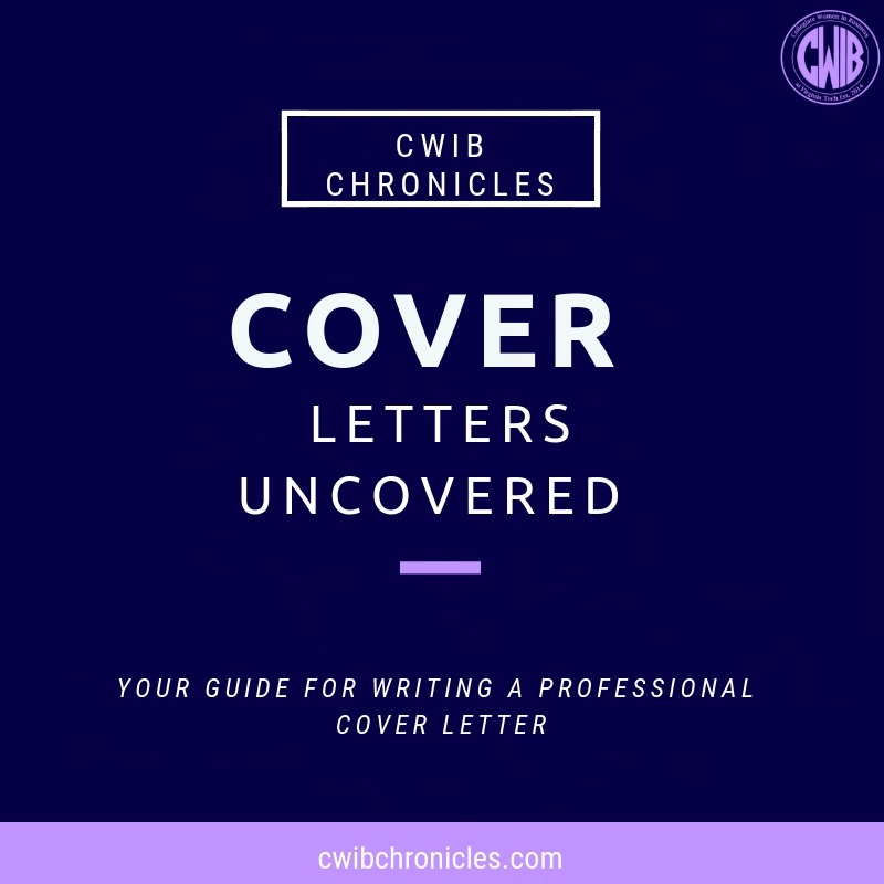 Cover Letters Uncovered