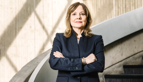 Mary Barra of General Motors