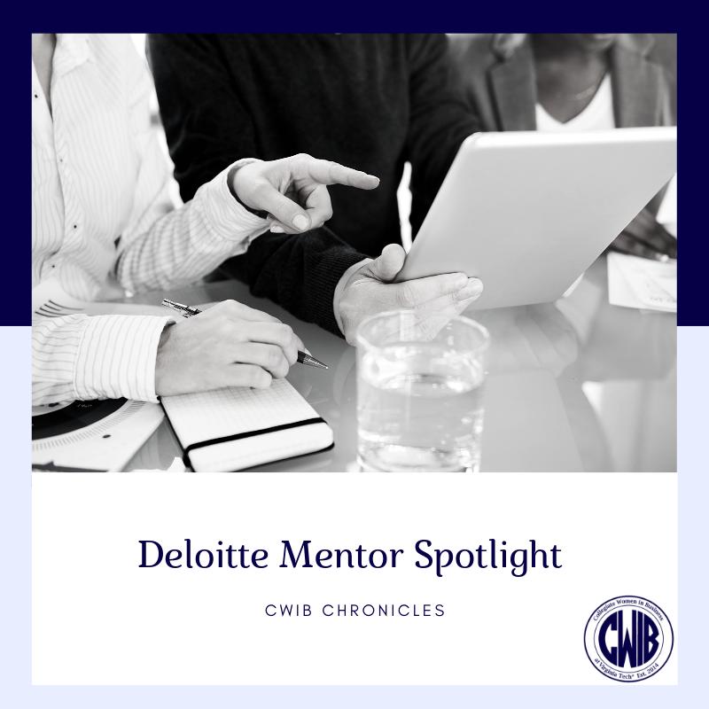 Deloitte: Mentor Spotlight