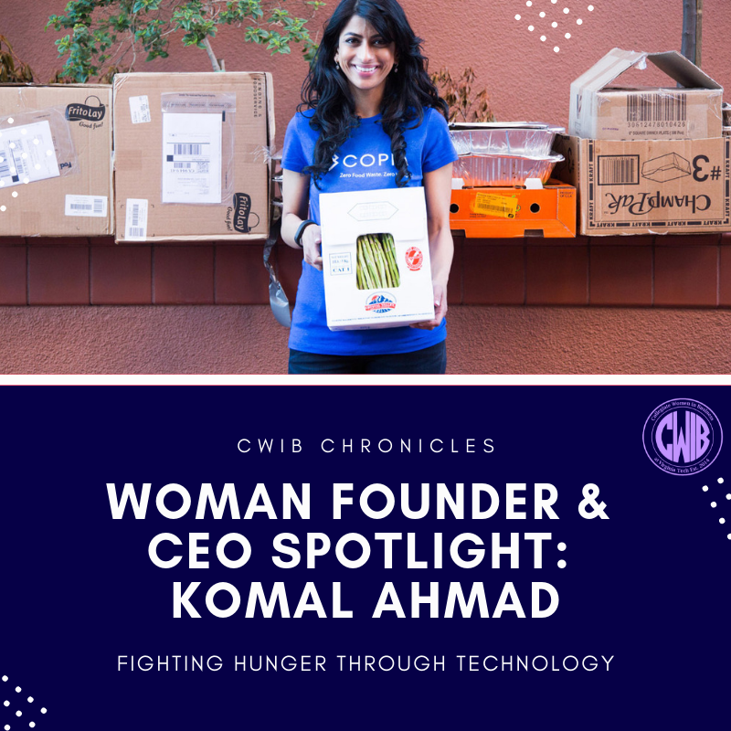 How Entrepreneur, Komal Ahmad, is Fighting Hunger Through Technology