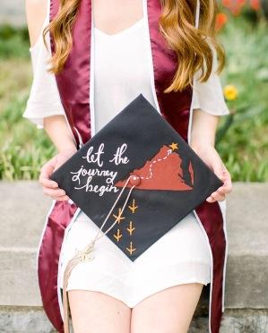 Kinsey graduation cap