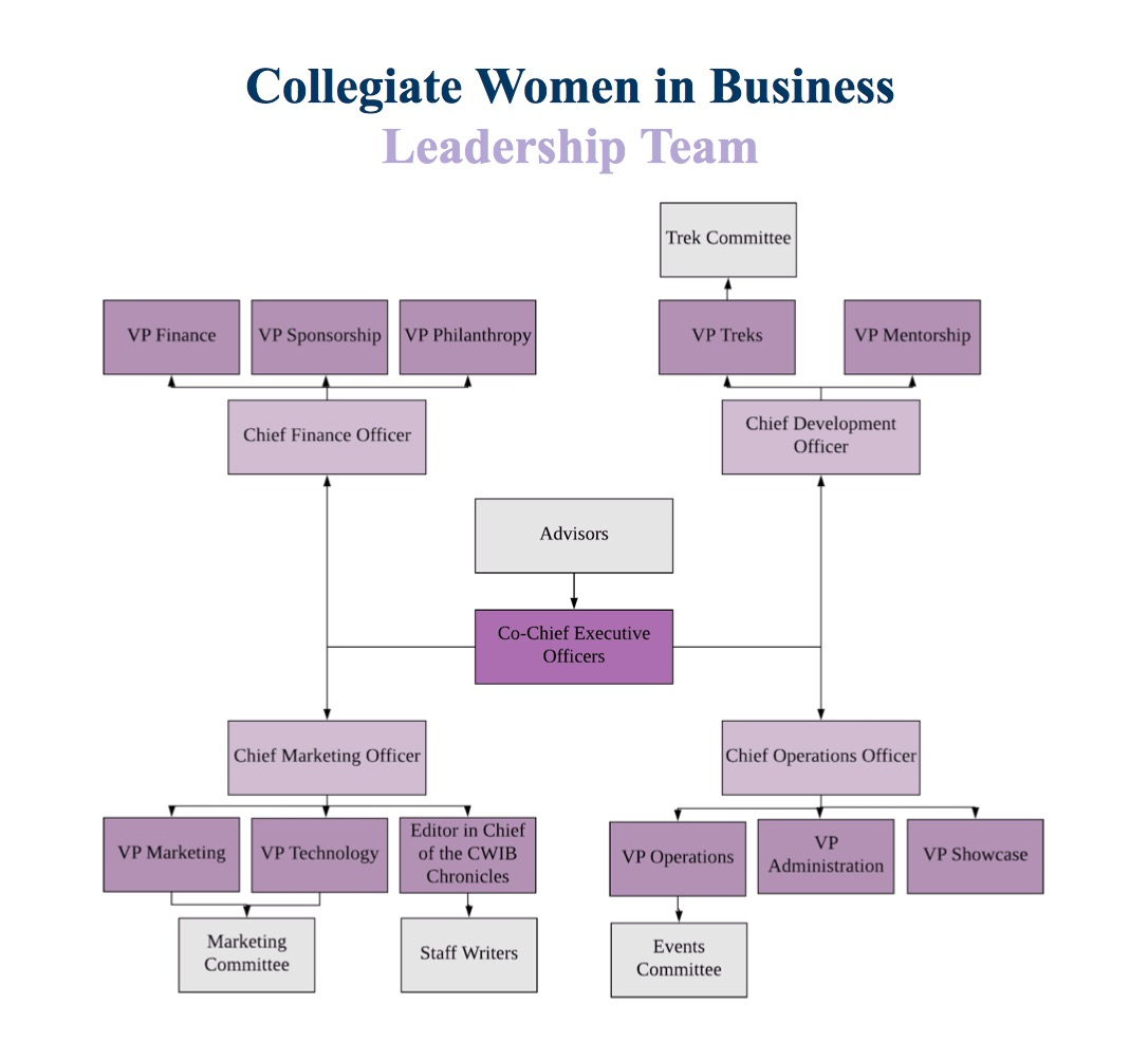 CWIB Leadership diagram