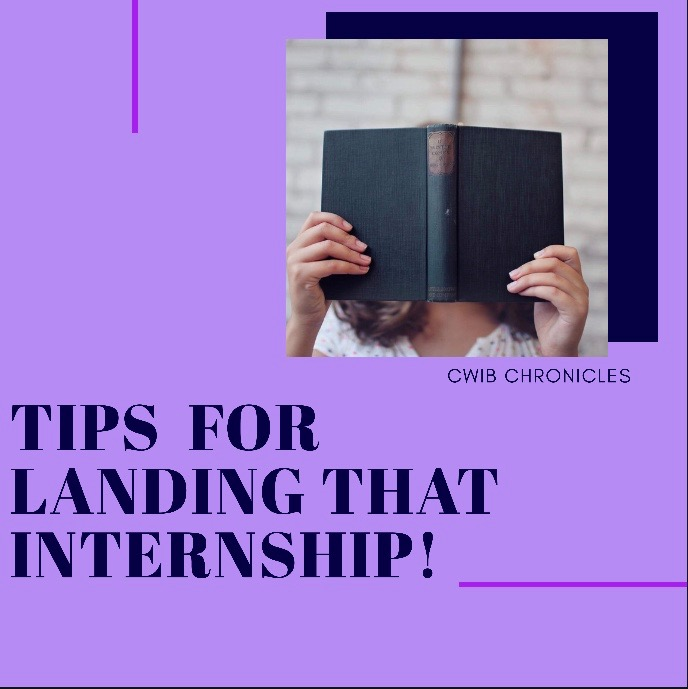 Tips for Landing that Internship!