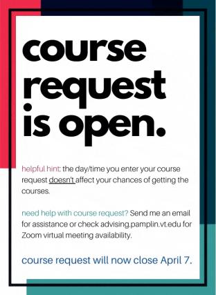 course request
