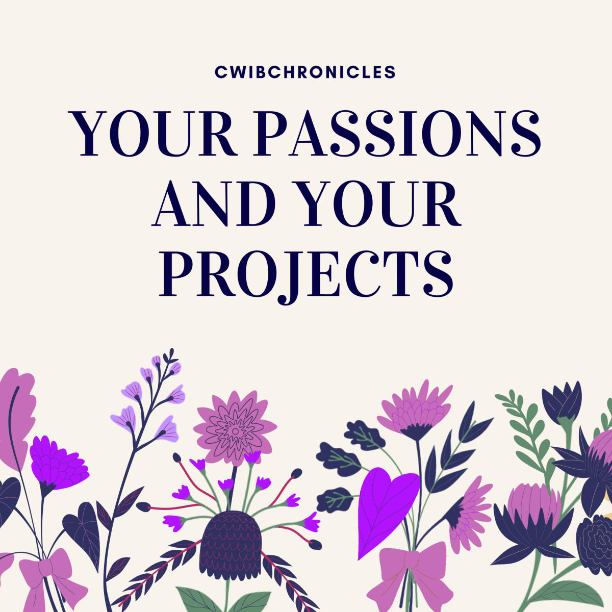 Your Passions and Your Projects